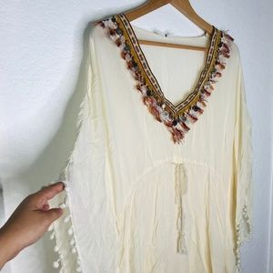 Other - Boho Swimsuit Cover Up M